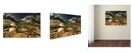 "Trademark Global Radoslav Penchev 'Desert Time' Canvas Art - 47"" x 30"" x 2"""