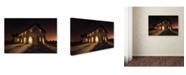 "Trademark Global Ivan Ferrero 'Haunted Mansion' Canvas Art - 47"" x 30"" x 2"""
