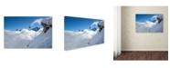"Trademark Global Tristan Shu 'Lincoln Loop' Canvas Art - 24"" x 16"" x 2"""