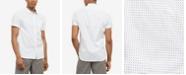 Kenneth Cole Men's Dot-Print Shirt