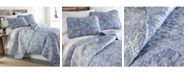 Southshore Fine Linens Perfect Paisley Lightweight Reversible Quilt and Sham Set, Full/Queen