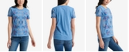 Lucky Brand Cotton Floral-Print T-Shirt