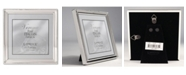 """Lawrence Frames Polished Silver Plate Picture Frame - Bead Border Design - 5"""" x 5"""""""