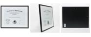 "Lawrence Frames Dual Use Black Aluminium Document Frame - 11"" x 14"""