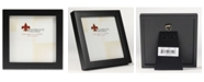 """Lawrence Frames Black Wood Picture Frame - Gallery Collection - 4"""" x 4"""""""