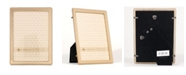 """Lawrence Frames Gold Metal Picture Frame - Classic Bead - 5"""" x 7"""""""