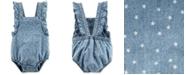 Carter's Baby Girls Cotton Star-Print Bubble Bodysuit