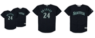 Mitchell & Ness Big Boys Ken Griffey Jr. Seattle Mariners Mesh V-Neck Player Jersey