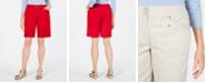 Karen Scott Knit-Waistband Bermuda Shorts, Created for Macy's