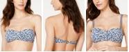 Lauren Ralph Lauren Ditsy Floral Twist Bandeau Bikini Top