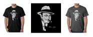 LA Pop Art Mens Word Art T-Shirt - Al Capone - Original Gangster