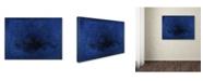 "Trademark Global Joarez 'Deep Blue' Canvas Art - 14"" x 19"""