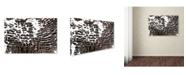 "Trademark Global Kika Pierides 'NA 4 (Wave)' Canvas Art - 12"" x 19"""