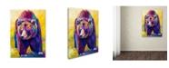 "Trademark Global Marion Rose 'Close Encounter' Canvas Art - 14"" x 19"""