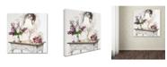 "Trademark Global The Macneil Studio 'Table Top' Canvas Art - 14"" x 14"""