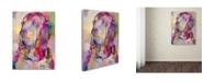 """Trademark Global Richard Wallich 'Blood Hound' Canvas Art - 14"""" x 19"""""""