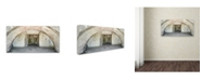 "Trademark Global Moises Levy 'Bunker 1' Canvas Art - 12"" x 24"""