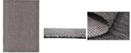 "Bridgeport Home Pashio Pas6 Black 8' x 11' 4"" Area Rug"