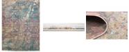 Bridgeport Home Aroa Aro2 Teal 10' x 13' Area Rug