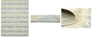 Bridgeport Home Pashio Pas4 Ivory 9' x 12' Area Rug