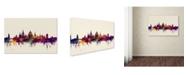 "Trademark Global Michael Tompsett 'Oxford England Skyline' Canvas Art - 16"" x 24"""