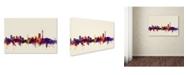 "Trademark Global Michael Tompsett 'Johannesburg Skyline' Canvas Art - 16"" x 24"""