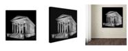 "Trademark Global Erik Brede 'Maison Carree' Canvas Art - 18"" x 18"""