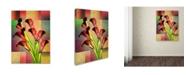 "Trademark Global Mark Ashkenazi 'BBB 3' Canvas Art - 18"" x 24"""