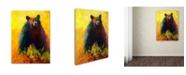 "Trademark Global Marion Rose 'Alert' Canvas Art - 18"" x 24"""