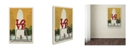 "Trademark Global Lantern Press 'Love' Canvas Art - 16"" x 24"""