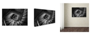 "Trademark Global Moises Levy 'Infinito Cuadrado C' Canvas Art - 16"" x 24"""