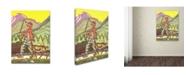 "Trademark Global Vintage Apple Collection 'CA Fairy 79' Canvas Art - 18"" x 24"""