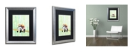 "Trademark Global Marc Allante 'Lullaby' Matted Framed Art - 16"" x 20"""