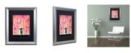 "Trademark Global Marc Allante 'Primrose' Matted Framed Art - 16"" x 20"""