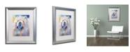 """Trademark Global Richard Wallich 'Art Chow' Matted Framed Art - 16"""" x 20"""""""