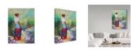 "Trademark Global Steve Henderson 'Riverside Muse' Canvas Art - 18"" x 24"""