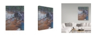 "Trademark Global Rusty Frentner 'Plain Air Culvert' Canvas Art - 18"" x 24"""