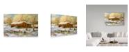 "Trademark Global Jack Wemp 'Red Barn' Canvas Art - 24"" x 16"""