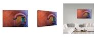 "Trademark Global Jason Matias 'Pastel Stairwell Italy' Canvas Art - 19"" x 12"""