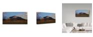 "Trademark Global Jason Matias 'Back Of Koko Head' Canvas Art - 19"" x 10"""