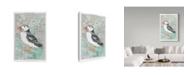 "Trademark Global Jane Wilson 'Atlantic Puffin' Canvas Art - 22"" x 32"""