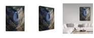 "Trademark Global J.D. Mcfarlan 'Lower Falls Yellowstone' Canvas Art - 14"" x 19"""