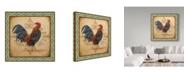 "Trademark Global Jean Plout 'Cockadoodledoo 1' Canvas Art - 24"" x 24"""