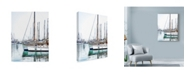 "Trademark Global Liz Zernich 'Trip Boats' Canvas Art - 18"" x 24"""