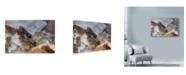 "Trademark Global Maciej Duczynski 'Iceland Landscape 26' Canvas Art - 19"" x 12"""