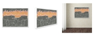 "Trademark Global Viz Art Ink 'A Blazing' Canvas Art - 35"" x 47"""