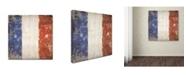 "Trademark Global Stephanie Marrott 'French Flag' Canvas Art - 24"" x 24"""