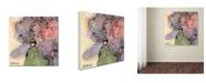 "Trademark Global Jennifer Redstreake 'Abstract Floral' Canvas Art - 24"" x 24"""
