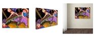 "Trademark Global Wyanne 'Big Diva Circus' Canvas Art - 24"" x 32"""