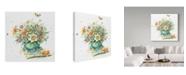 "Trademark Global Janneke Brinkman-Salentijn 'April Bouquet' Canvas Art - 24"" x 24"""